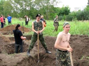 Памяти 69 воинов-топчихинцев замученных фашистами в лагерях военнопленных