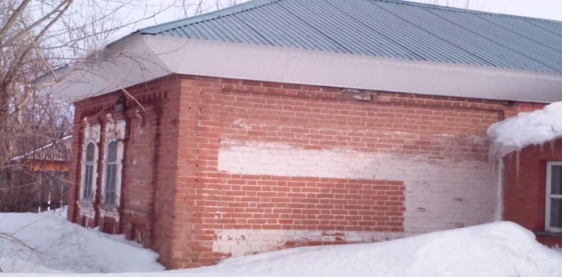 Самый старинный дом в селе Парфёново